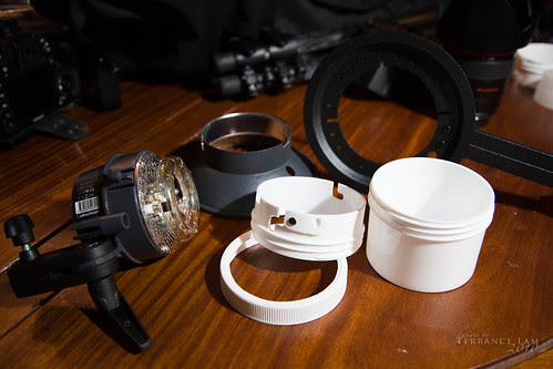 DIY RQ Adapter Ring for Elinchrom Ranger Quadra