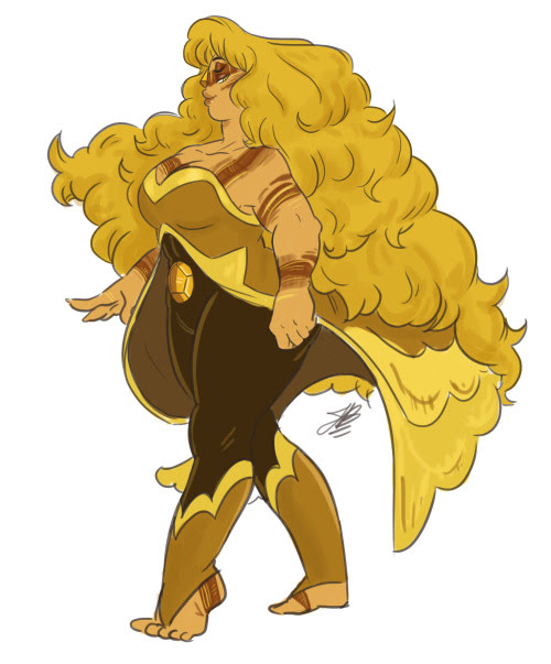 Anonymous said: A fusion between jasper and rose? Answer: Tiger Eye : D