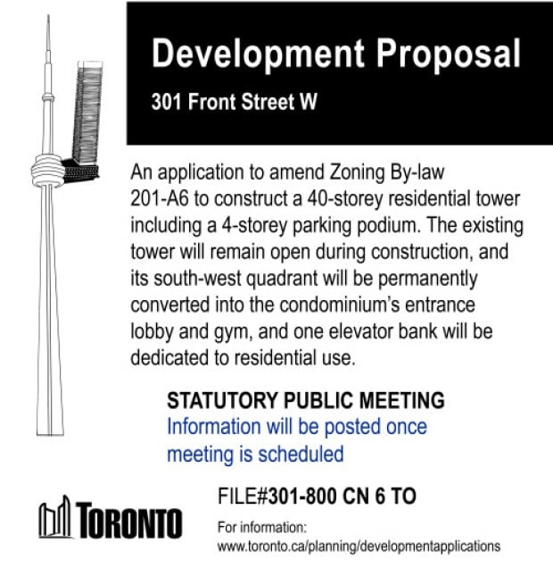 CN tower condos