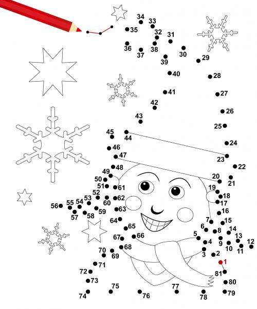 dot to dot winter