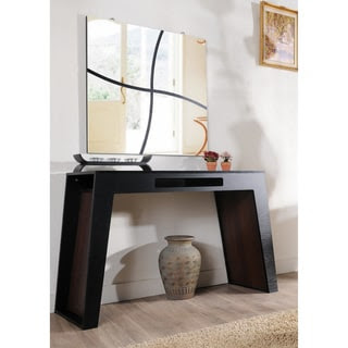 Furniture of America Atrix Black Walnut Finish Modern Console ...