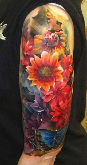 Half Sleeve Tattoo For Men Tattoo Ideas Mag