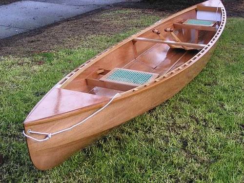 Eureka Canoe - Classic shape from a plywood canoe.