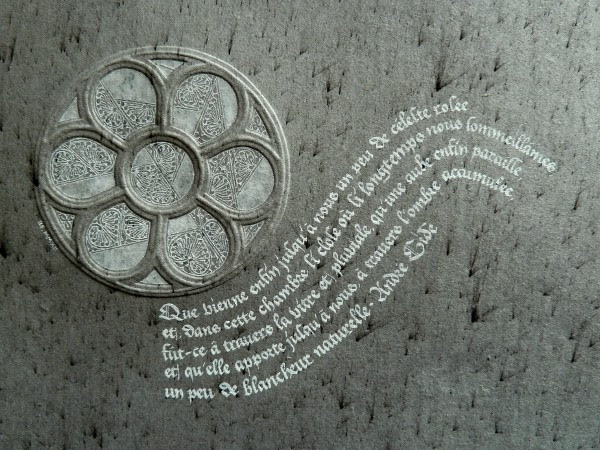 Texte d'André Gide