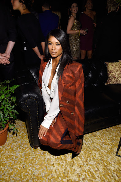 Singer-songwriter Mila J attends the Fashion Rocks 2014 After Party at Weylin B. Seymour's on September 9, 2014 in Brooklyn City.