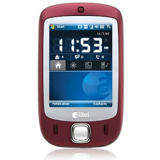 HTC Touch Goes Burgundy on Alltel