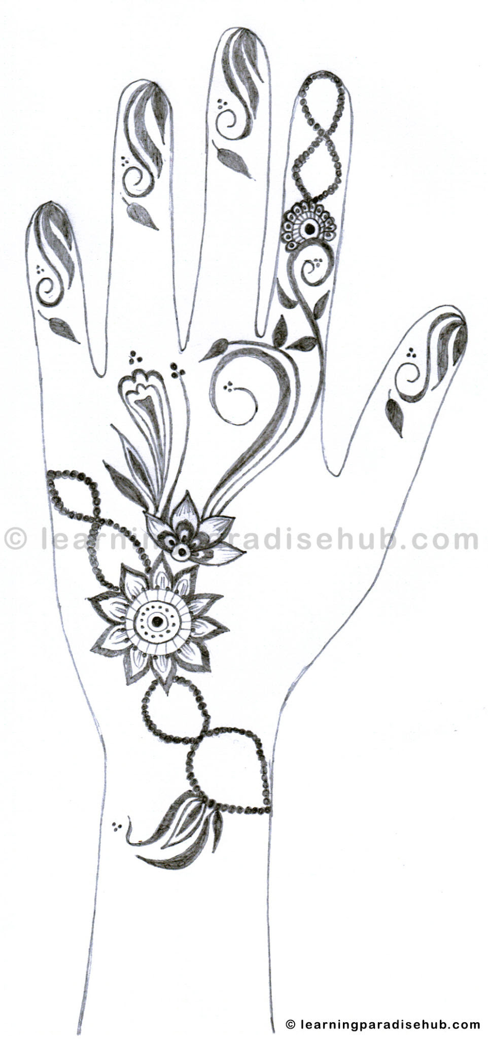Simple Mehndi Designs For Beginners On Paper Most simple mehndi designs for beginners. simple mehndi designs for beginners on