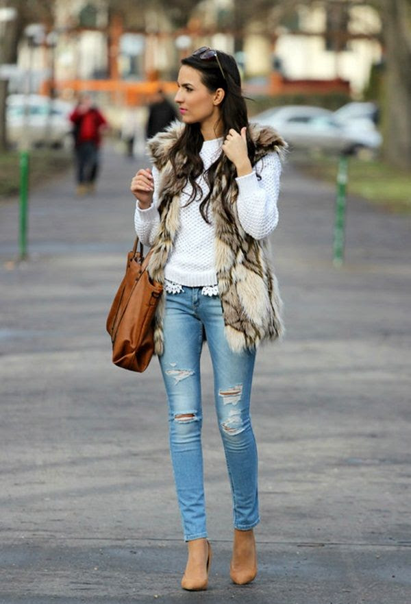 21 cute ways to wear ripped jeans  styles weekly