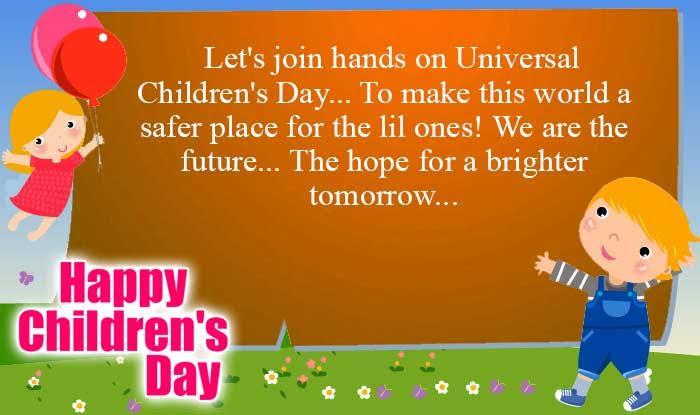 Happy Childrens Day Quotes Wishes Best Bal Divas Wishes