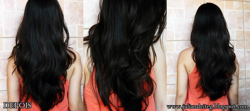 juliana leite cabelos ressecados queda castanho longos enrolados blog hidratação pantene ampola creme 3 minutos intenso brilho máscara condicionador como tratar cloro piscina DEPOIS DO TRATAMENTO