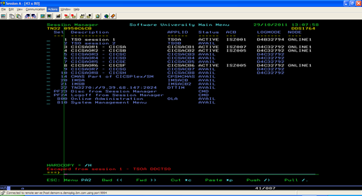 Dukka Srinivas Mainframe  Programming A Cics