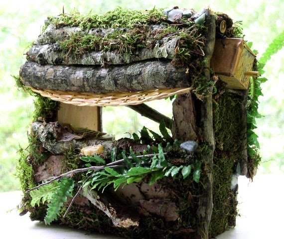 Painted Furniture Studio Woodland Fairy Houses Custom