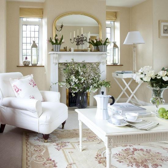 Klasik ülkede oturma odası | Doğal oturma odaları | Görüntü