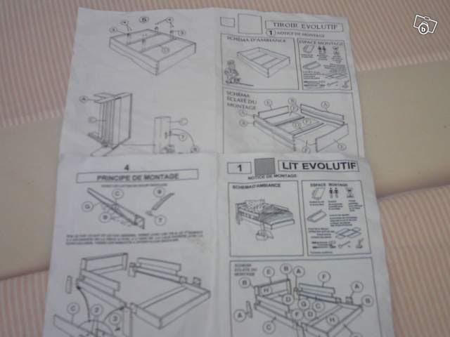 montage lit evolutif vertbaudet. Black Bedroom Furniture Sets. Home Design Ideas