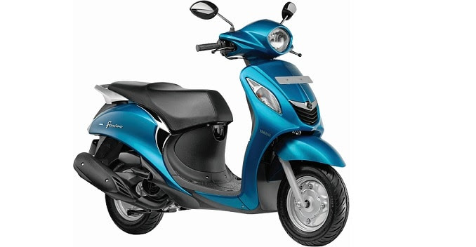 Yamaha Fascino 113cc Scooter Launched at Rs. 52,500