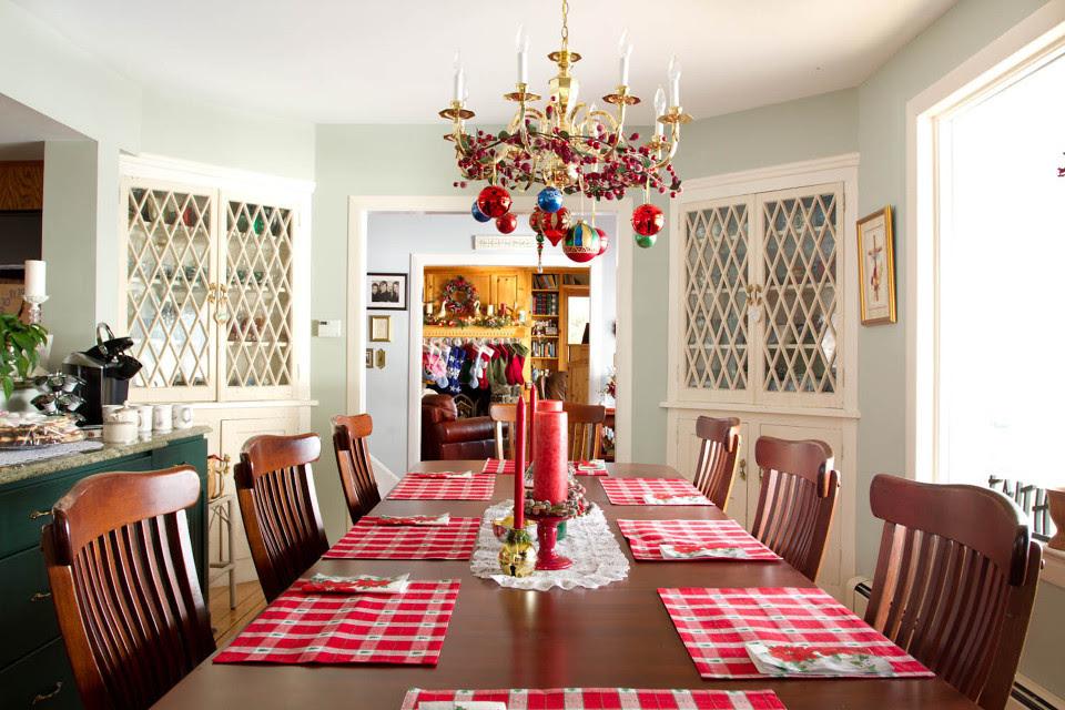 Country Christmas Decor Interior Design Ideas