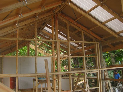 Building The Bamboo Spa by Matava - Fiji's Premier Eco Adventure Resort