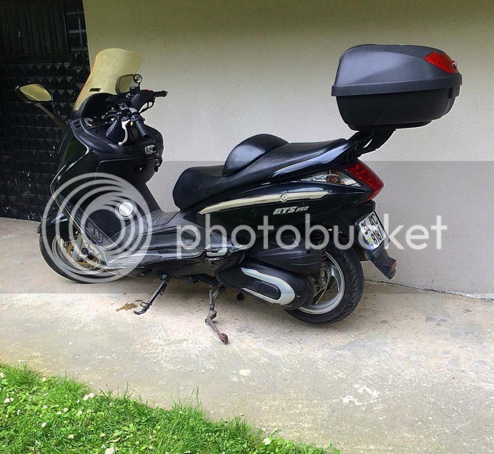 Motosiklet Boyama Resmili