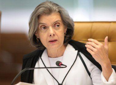 Cármen Lúcia rebate rumores sobre Presidência: na magistratura 'até o último dia'