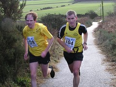 David and Chris finishing Leg 3