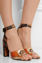 ValentinoCovered printed leather sandals