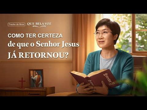 """Filme evangélico """"Que bela voz"""" Trecho 2 – Como ter certeza de que o Senhor Jesus já retornou?"""