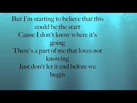 Lyrics To Start Of Something Good By Daughtry