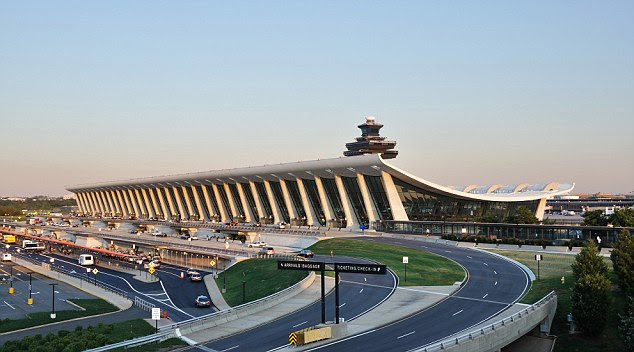 Mystery find: Ground crews at Dulles International Airport in Virginia came upon a man's body in the wheel well of a South African plane sitting in a remote parking lot