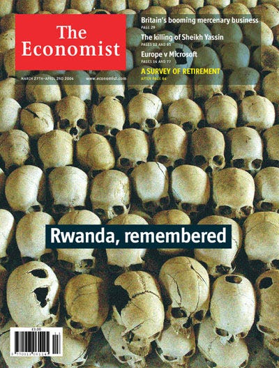 """Rwanda, remembered"" - Mar 27, 2004"