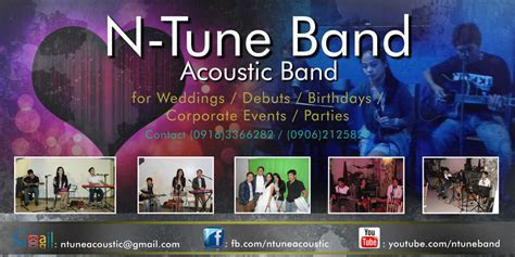 N Tune Band   Wedding Singer Cavite, Tagaytay, Laguna