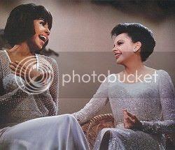 Diahann Carroll & Judy Garland