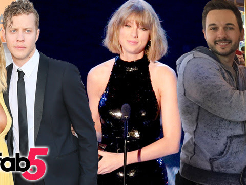TooFab 5: Taylor Wins Big at iHeart Radio, Miranda Brings Her Beau to the ACMS & More!