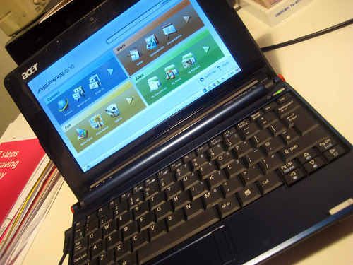 My Acer Aspire One Netbook