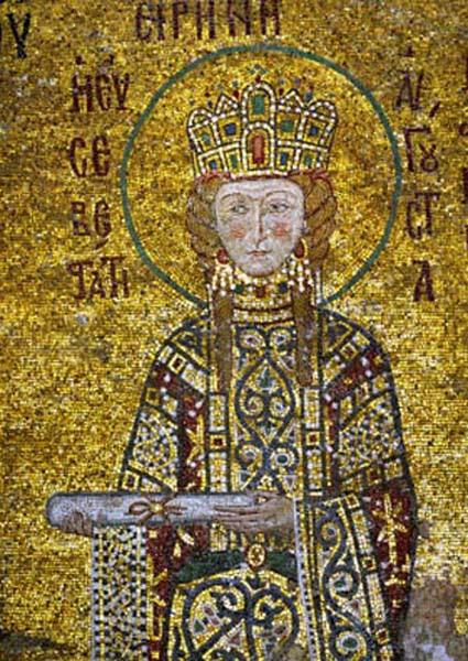 img ST. IRENE of Athens, Empress of Byzantium