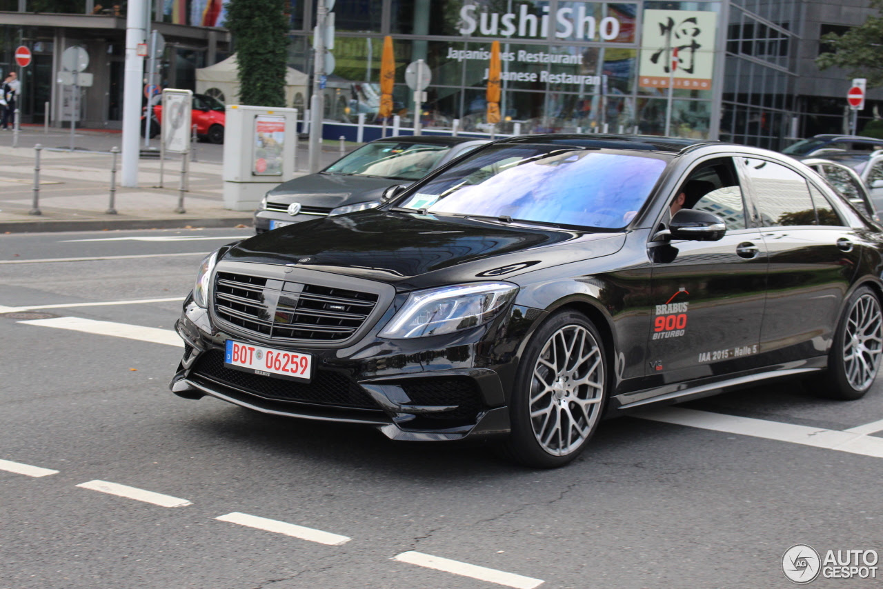 MercedesBenz Brabus 900 Rocket  12 November 2016  Autogespot