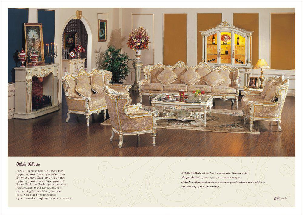 Buy cheap French style living room set Free Shipping with $19982.49/