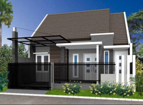 20 Contoh Rumah Minimalis Sederhana Modern Tampak Depan 6 Desain Rumah Minimalis