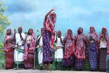 Saho cultural group - Festival Eritrea 2006 - Asmara Eritrea.