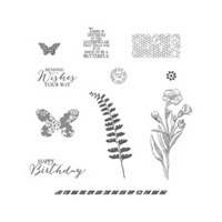 Butterfly Basics Wood Stamp Set