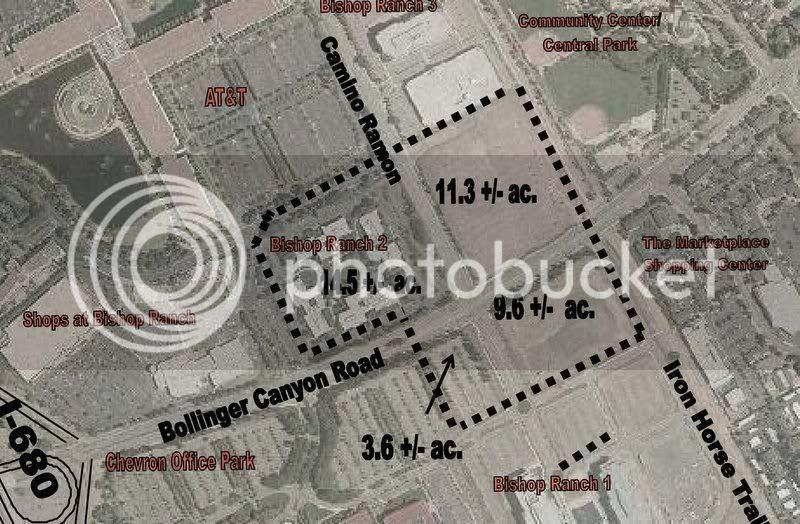 San Ramon city center
