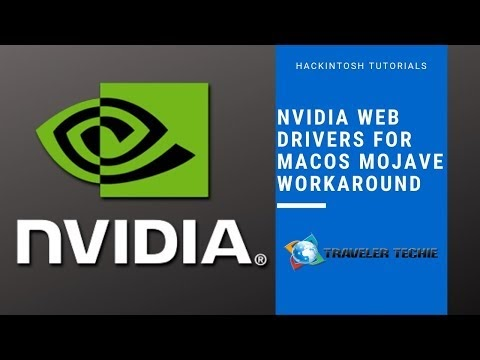 NVIDIA Web Drivers Mojave Workaround | The Traveler Techie