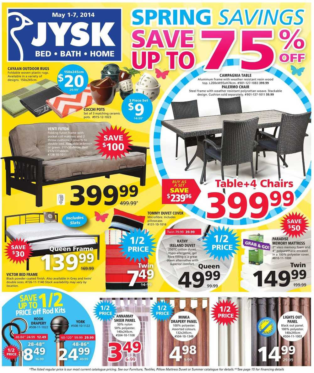 jysk flyer may 1 to 7 1