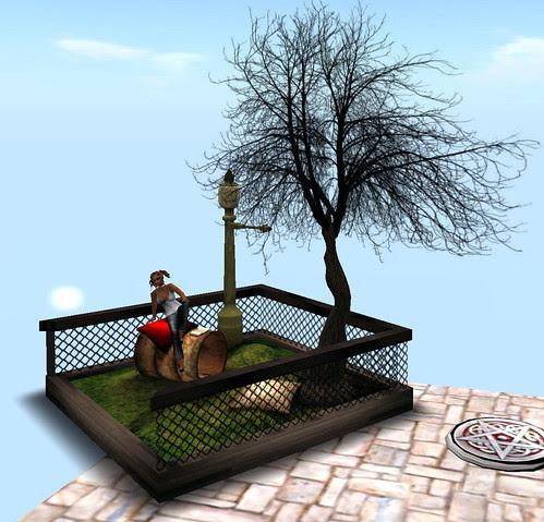 Chimney Hunt 53 Julia Collection Mini Park on December 12 2009 001
