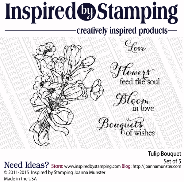 Inspired by Stamping Tulip Bouquet stamp set