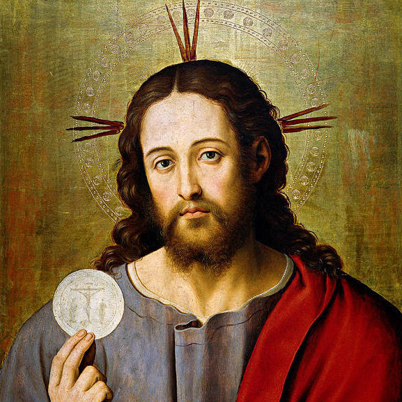 christ with the eucharist