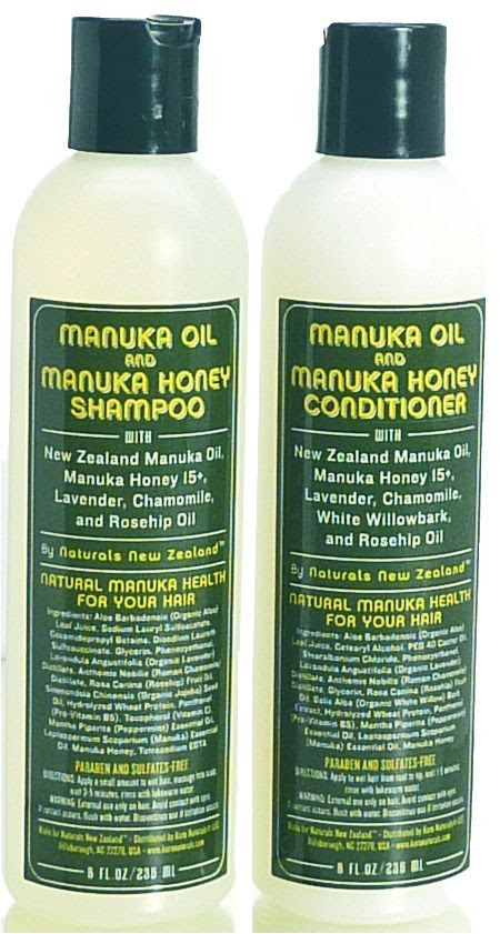 Manuka Oil Shampoo and Conditioner from Koru Naturals ~ Review at Circling Through This Life