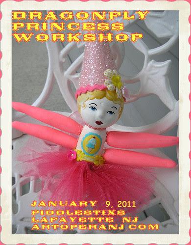 Dragonfly Princess Workshop