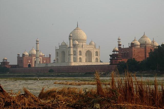 Le Taj Mahal en Inde à Agra