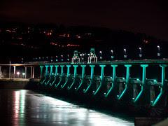 Lights at the bridge...