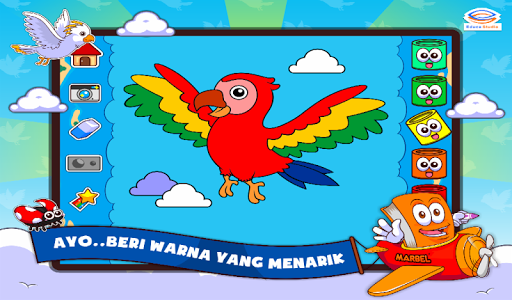 Download Marbel Mewarnai Hewan Udara 1 1 Apk Downloadapk Net